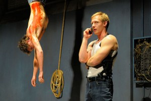 Daniel Krueger and Blake Ellis in The Lieutenant of Inishmore.  Photo courtesy of mellopix.com