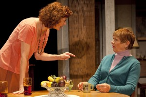 Shannon Cochran and Estelle Parsons in August: Osage County. Photo by Robert J. Saferstein