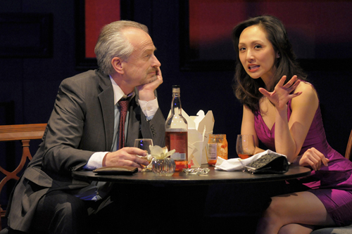 J Michael Flynn And Linda Park In Love American Times Photo By Kevin Berne