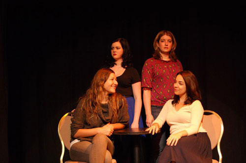 Emma Rose Shelton, Allison Page, Megan Briggs and Sylvia Hathaway in The Age of Beauty.