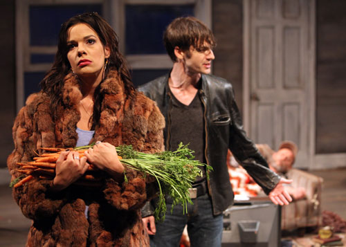 Elaina Garrity and Patrick Alparone in Buried Child. Photo by Jennifer Reiley.