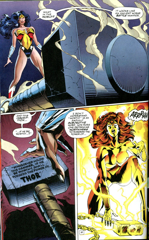 A tendency to overthink things is only one of the reasons I love Wonder Woman.