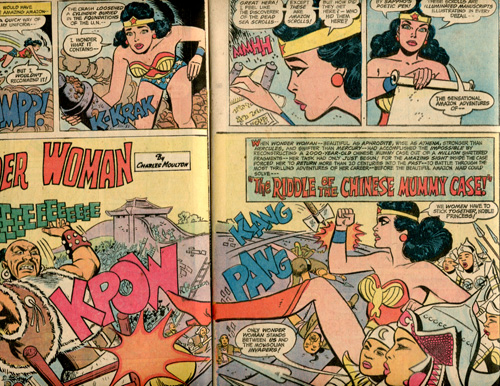 Man, those stashes of Wonder Woman fanfic are everywhere.
