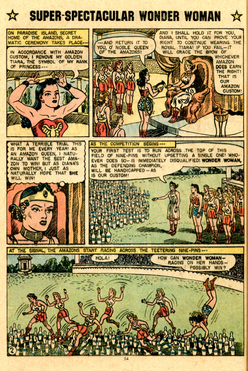 Oh yeah, Golden Age (pre-1958) Hippolyta has black hair and Silver Age Hippolyta is blonde.