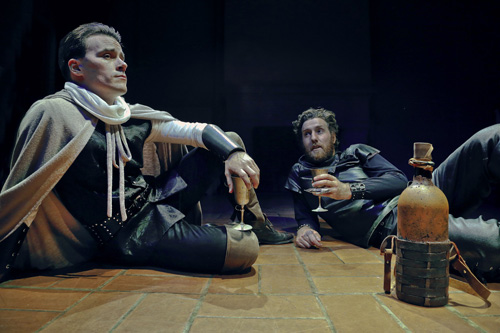 Benjamin Stowe and Lucas Hatton in The Lion and the Fox. Photo by Jim Norrena.