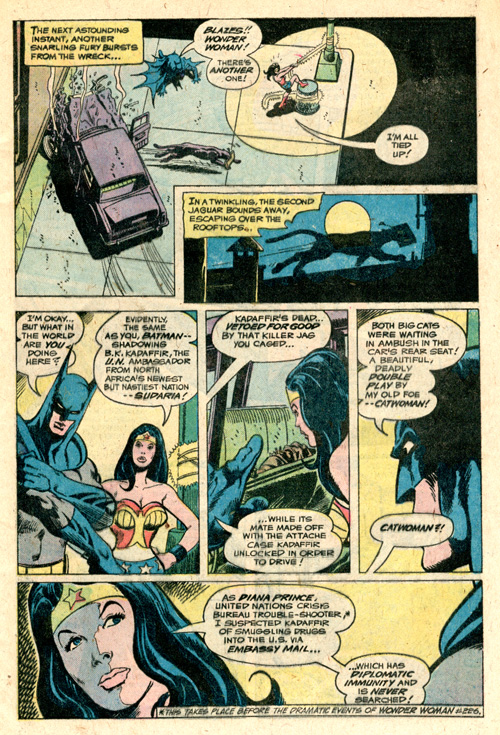 I love that Haney's Batman talks like a beatnik.