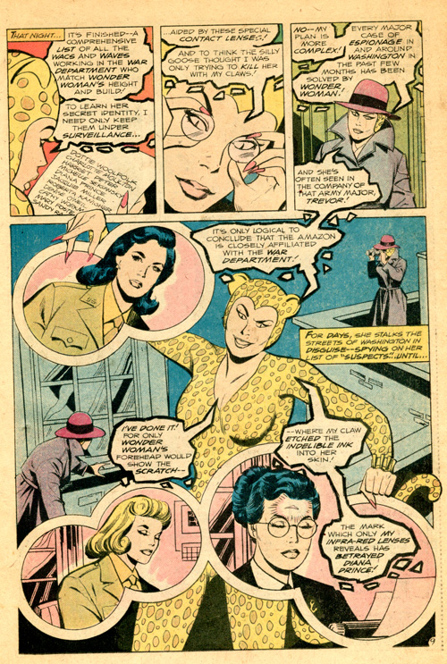 That list is kind of hilarious if you know anything about Wonder Woman's history.