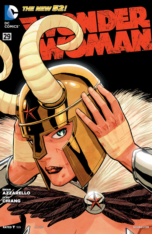 I know it's Ares's helm, but it reminds me of Loki's.