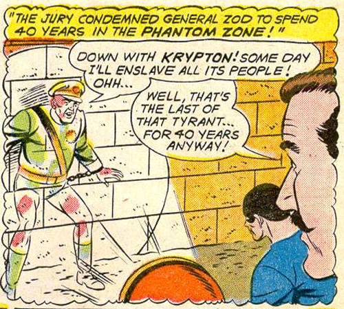 Zod pretty much stuck with this look in the comics for a good 45 years.