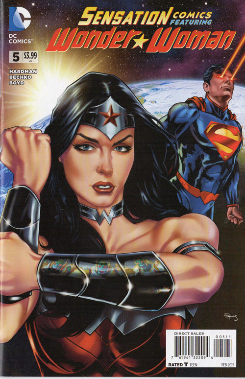There's always gotta be Superman with Wonder Woman these days. He's not even in this comic!