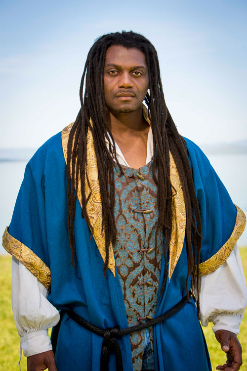 Dameion Brown stars in Marin Shakespeare Company's Othello.