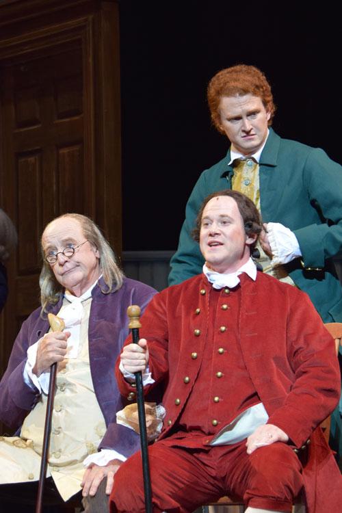 Sam Leeper, John Hetzler and Benjamin Pither in 1776.